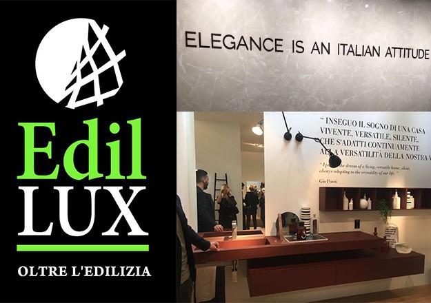 Ginosa edil lux presente a cersaie 2017 il salone for Cersaie 2017 espositori